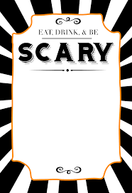 Free Printables For Halloween by Halloween Invitations Free Printable Template Paper Trail Design