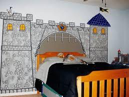 knight in castle in boys bedroom mural houseart custom painting knight in castle in boys bedroom mural
