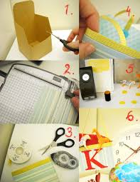 paper therapy kraft box and paper lantern projects from stampin