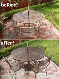 patio furniture beforeafter cheap makeover ideas get inspired how to
