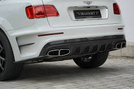 bentley mansory official 700hp bentley bentayga by mansory gtspirit