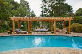 Pre Built Pergola by Outdoor Living Elements The Pergola Kloter Farms Blog Traditional