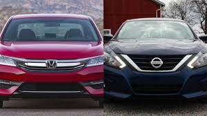 nissan altima sport 2016 2016 honda accord vs 2016 nissan altima sr youtube