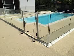 piscine en verre barrière de piscine de sécurité en verre