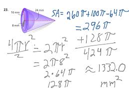 Surface Area And Volume Worksheets Grade 7 Showme Surface Area Of Composite Figure