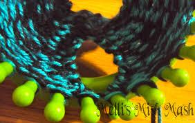 loom knitted wrist warmers fingerless gloves tutorial melli u0027s