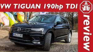volkswagen vw 2016 volkswagen vw tiguan 2 0 tdi 190hp driving impressions youtube
