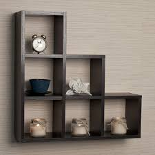 wooden wall hanging wall cube shelves wood