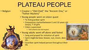 plateau people lived east of cascades and west of the rocky