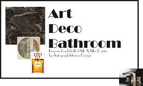 Art Deco Bathroom Art Deco Bathroom Cover Page Playuna