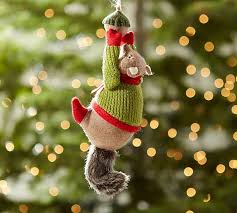 squirrel christmas ornaments christmas cards