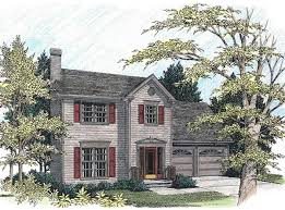 english country home plans classic two story starter home 2077ga architectural designs