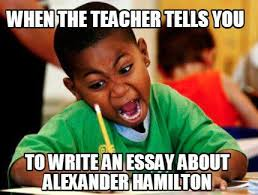 Meme Creatore - meme creator when the teacher tells you to write an essay about