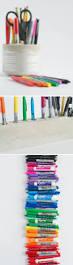 Pen Organizer For Desk Diy Cement Pencil Holder Design Mom