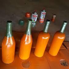 wine bottle jack o lanterns 8 steps with pictures