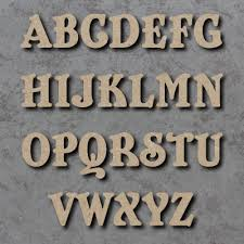 perfectly crafty uk wooden alphabet letters