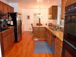 Galley Kitchen Layouts Best Galley Kitchen Layout Floor To Ceiling Window Antique Wood