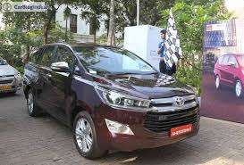 toyota innova 2016 toyota innova crysta launch price specifications images