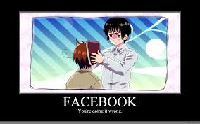 You Re Doing It Wrong Meme - facebook anime meme com
