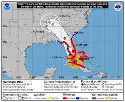 hurricane irma is expected to hit south florida and the gulf coast