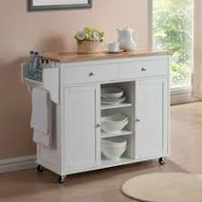 cheap portable kitchen island with drop leaf in white color