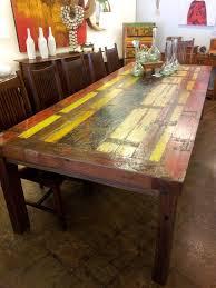 Balinese Dining Table Balinese Boat Wood Tables Jaya Furniture