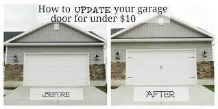 Design Ideas For Garage Door Makeover Alluring Design Ideas For Garage Door Makeover Garage Door