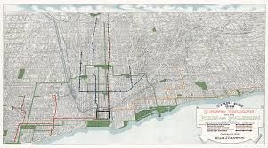 Map Of Chicago Loop by 1908 Chicago U2013 Large Cameron Booth