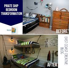 Kids Pirate Room by Pirate Themed Bedroom Transformation Knock It Off East Coast