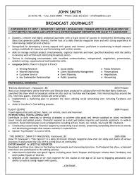 Click Here to Download this Broadcast Journalist Resume Template  http   www