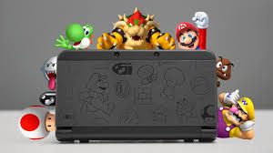 nintendo 3ds xl black friday new nintendo 3ds mario black edition overview youtube