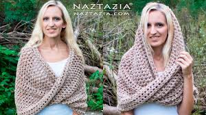 crochet wrap diy tutorial how to crochet mobius twist shawl and hooded cowl
