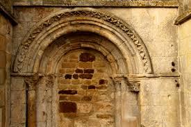 arcade en bois file cesny bois halbout église de l u0027assomption de notre dame porte