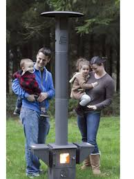 pellet fired patio heater