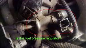 where is the fuel pressure regulator where is the location of the 2000 vulcan location fuel schrader valve and fuel pressure