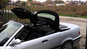 bmw e36 full automatic roof operation youtube