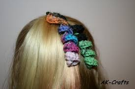 hair spirals how to crochet a hair spiral or corkscrew ponytail holder the