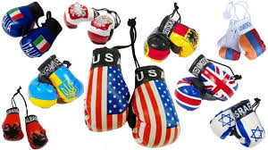 Country Flags Small Mini Boxing Gloves Ebay