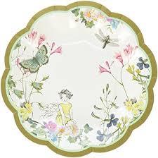 flower paper plates amazon com