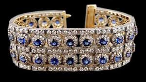 colored stone bracelet images Colored stone diamond bracelet at rs 300000 piece s diamond jpg