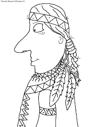indians thanksgiving pilgrim and indian clip art