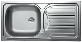 kitchen sink drainer kitchen sink and drainer in stainless steel 860x435mm our trip