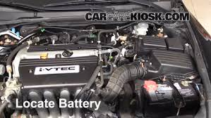 how to clean battery corrosion 2003 2007 honda accord 2006