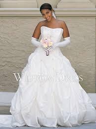 clearance plus size wedding dresses plus size chiffon satin sleeveless strapless a line
