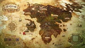 Final Fantasy 2 World Map by Eorzea Continent Maps Ffxiv A Realm Reborn Info Ff14