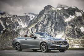 used mercedes convertible mercedes benz debuts the 2018 e class cabriolet a convertible for