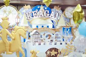 Castle Backdrop Kara U0027s Party Ideas Royal Castle Dessert Table Backdrop From A