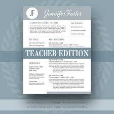 58 best teacher resume templates images on pinterest teacher