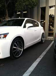 2012 lexus ct200h tires my 2012 ct a little fixed up