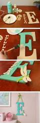Decorative Letters For Walls 45 Awesome Diy Ideas For Making Your Own Decorative Letters 2017